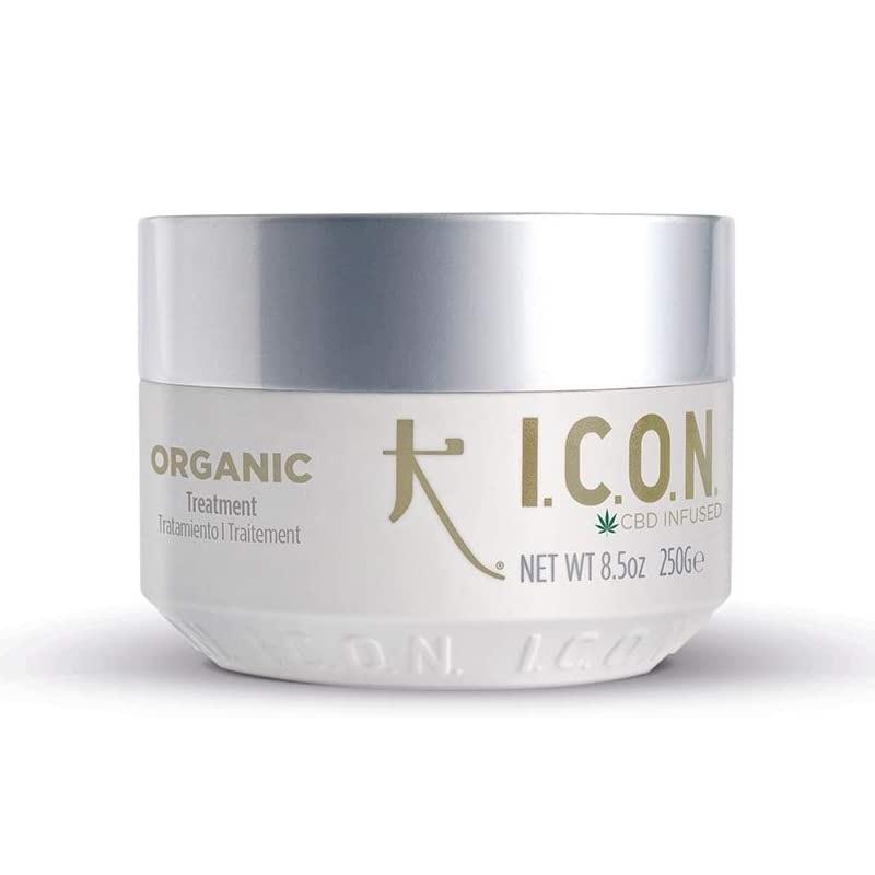 Tratamiento reparador para el cabello de ICON con CBD.