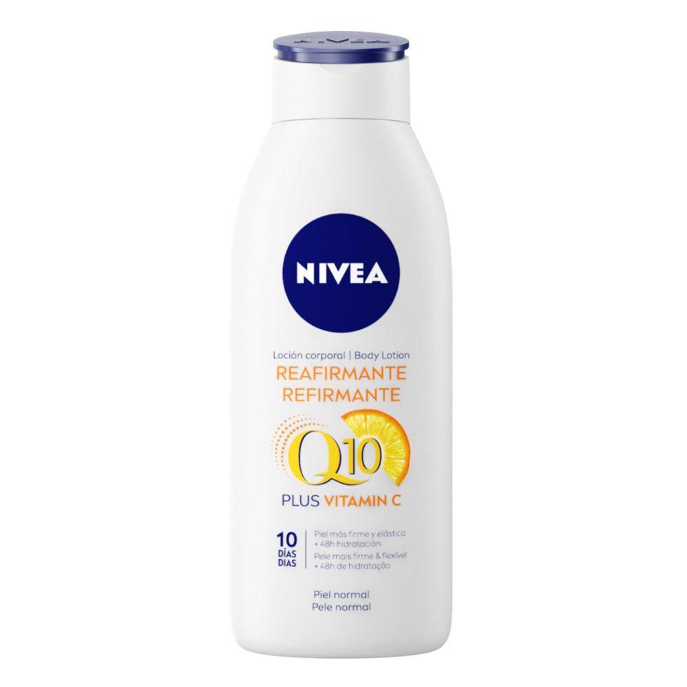 Body Loción Reafirmante Q10   Vitamina C de Nivea