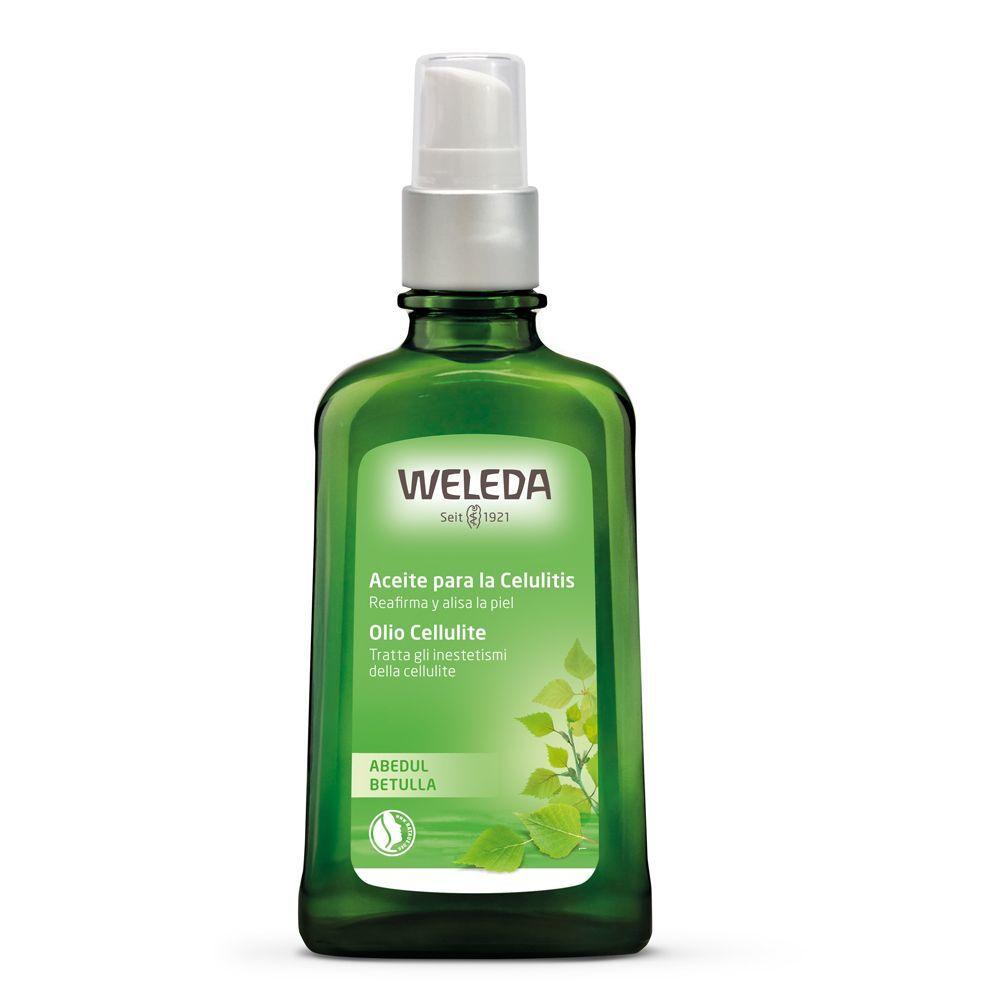 Aceite para la celulitis con abedul de Weleda