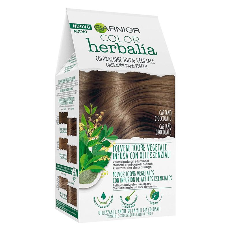 Tinte natural para canas Color Herbalia de Garnier