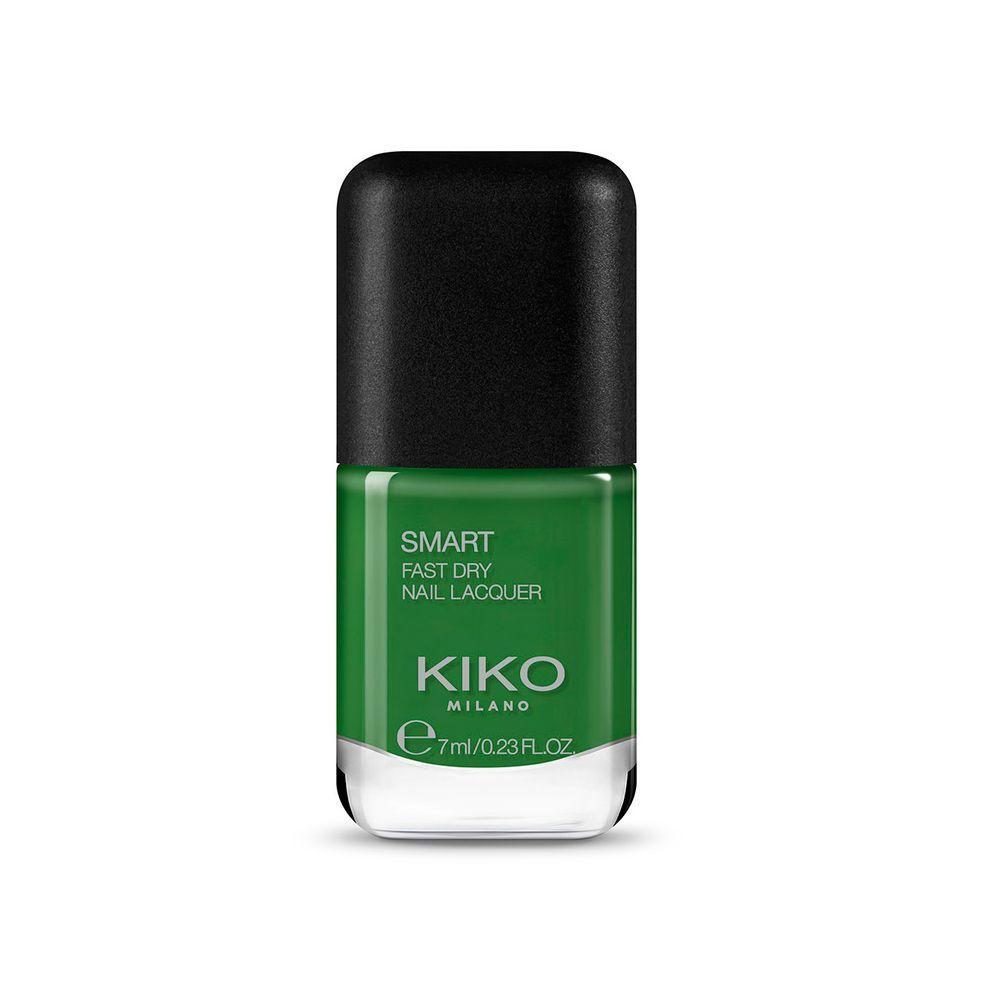 Esmalte de uñas 87 Lawn Green Smart Nail Lacquer de Kiko Milano.