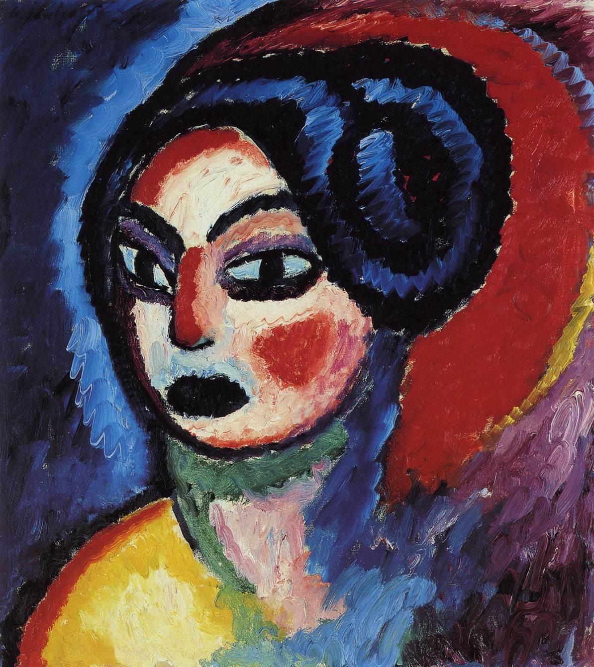 Las pinturas de Alexei von Jawlensky en la Fundación Mapfre.