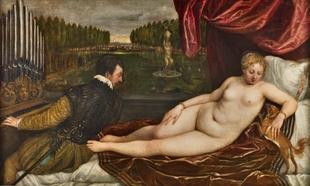 Obra mitológica de Tiziano.
