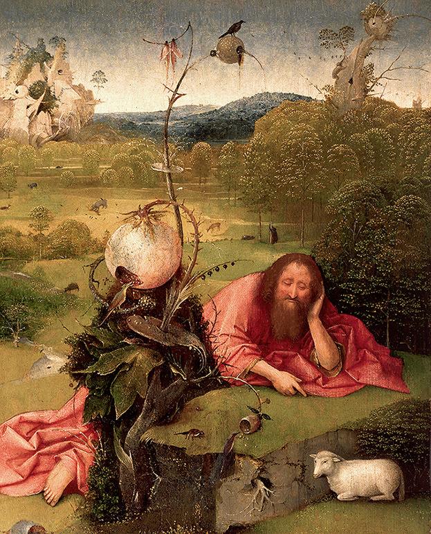 Esta obra maestra de El Bosco se exhibe en el Museo Lázaro Galdiano.