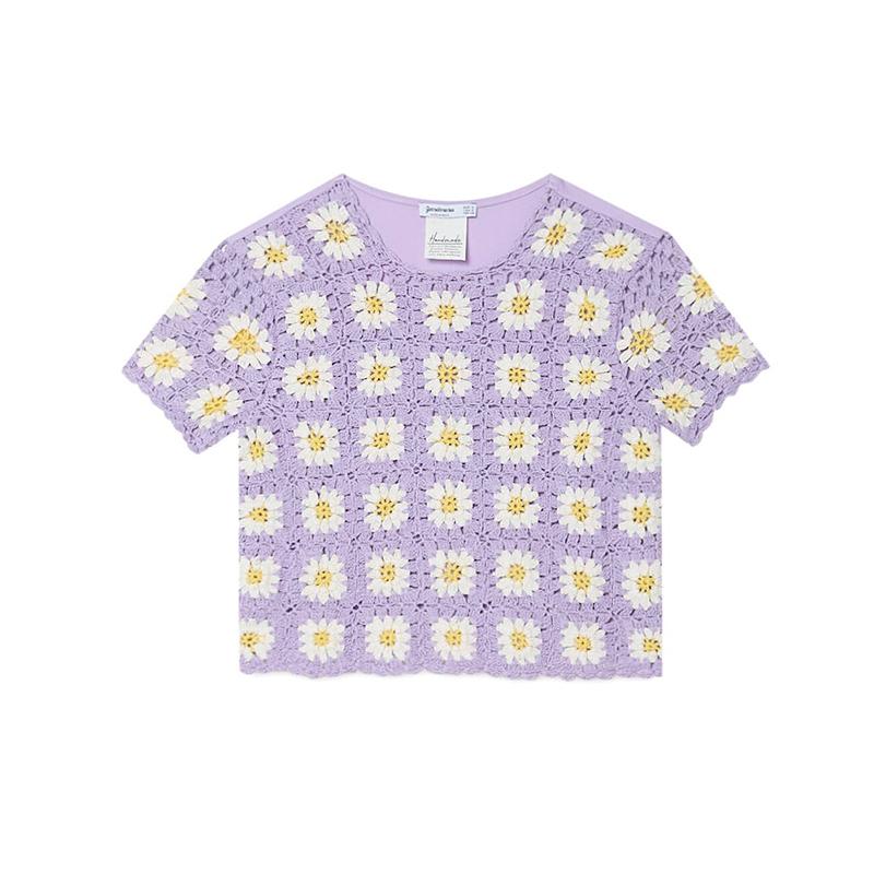 Camiseta crochet.