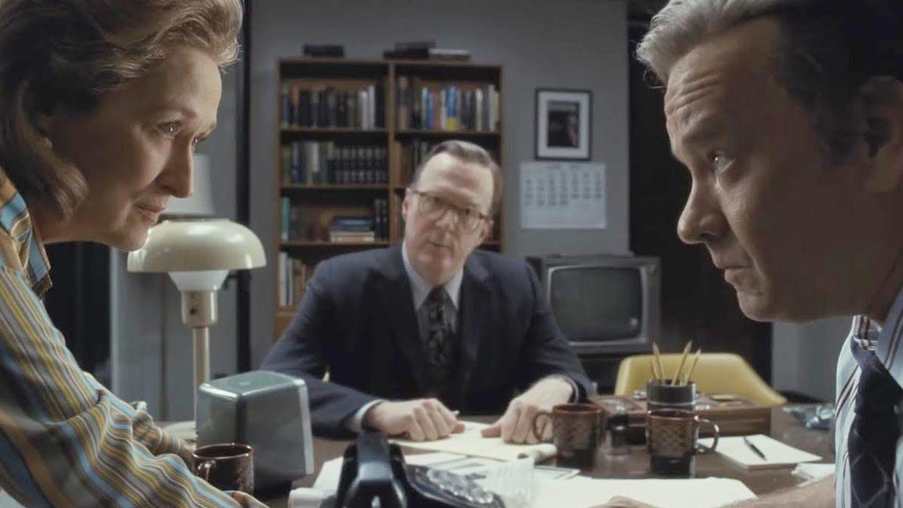 "Meryl Streep y Tom Hanks protagonizan ""Los papeles del Pentágono""."