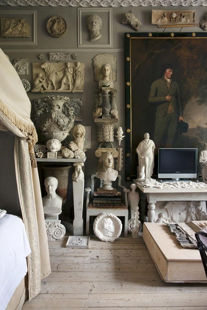 Interior de una casa de Londres