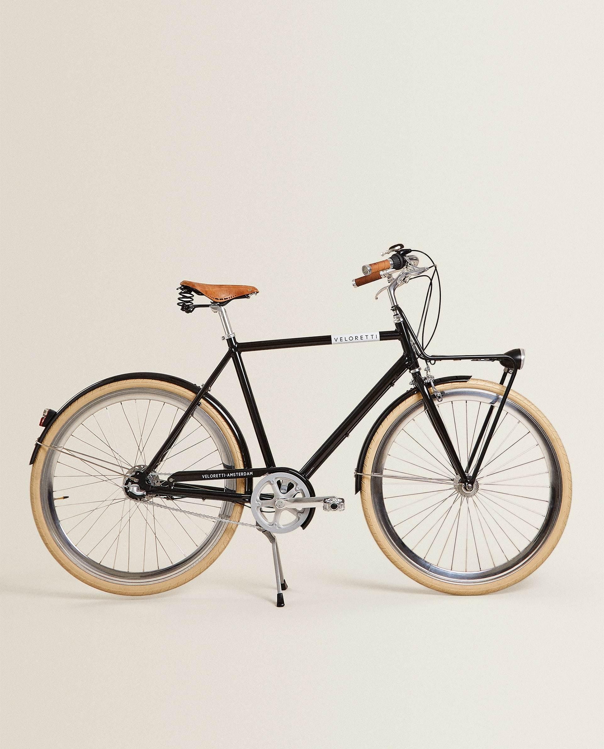 Bicicleta veloretti de barra alta