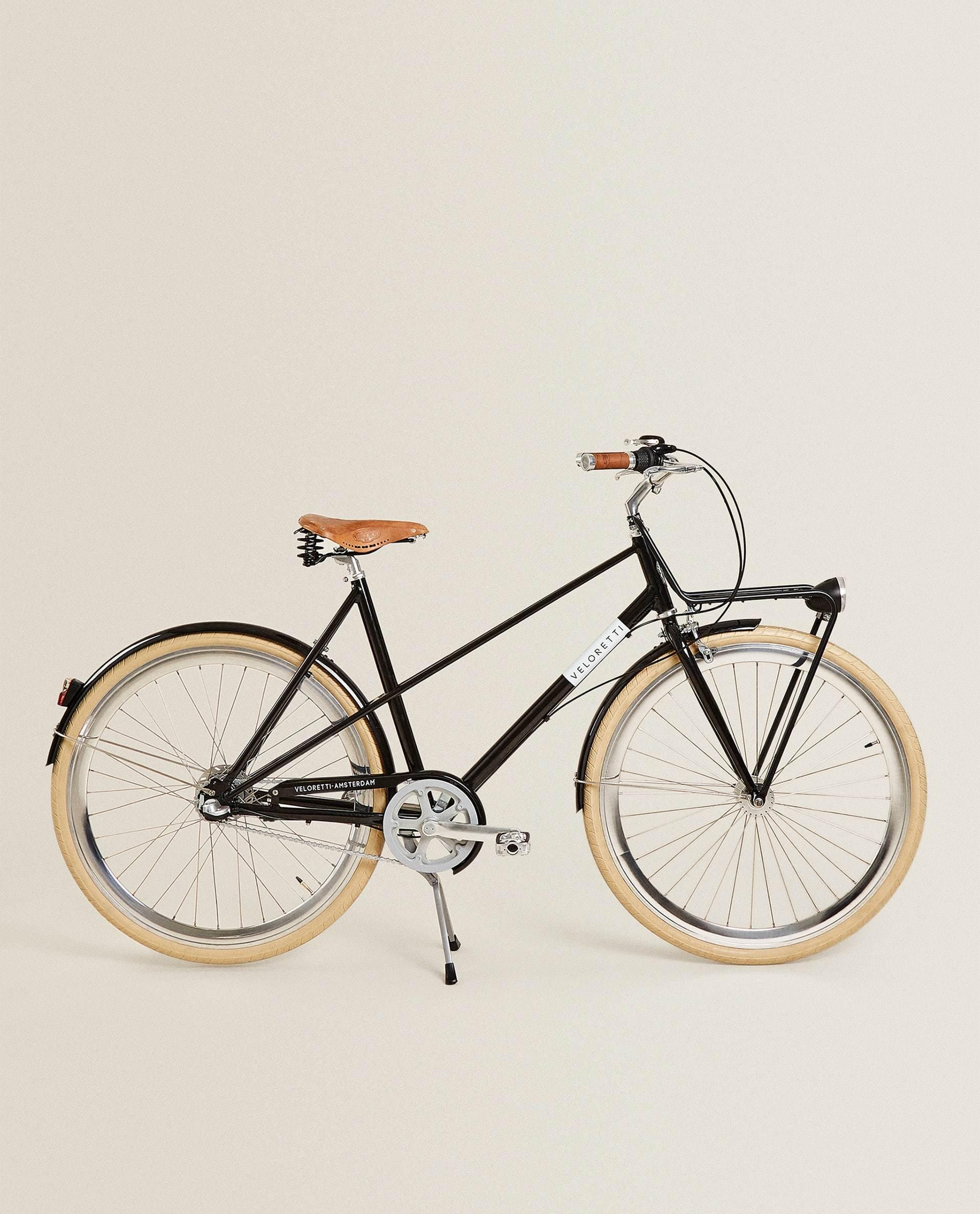 Bicicleta veloretti de barra baja