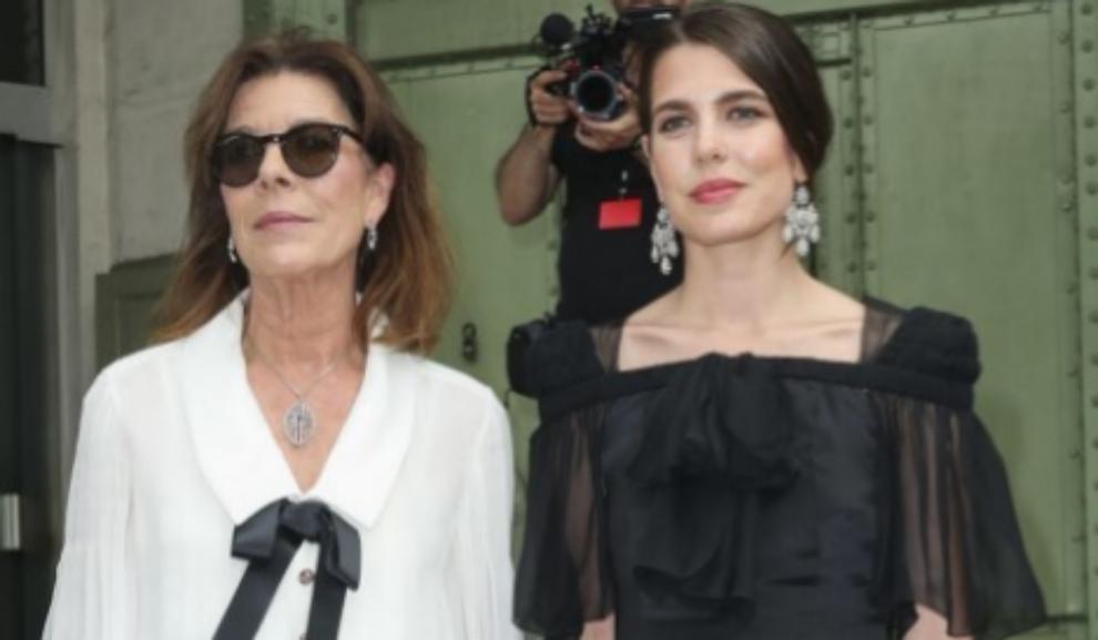 Carolina y Carlota de Mónaco