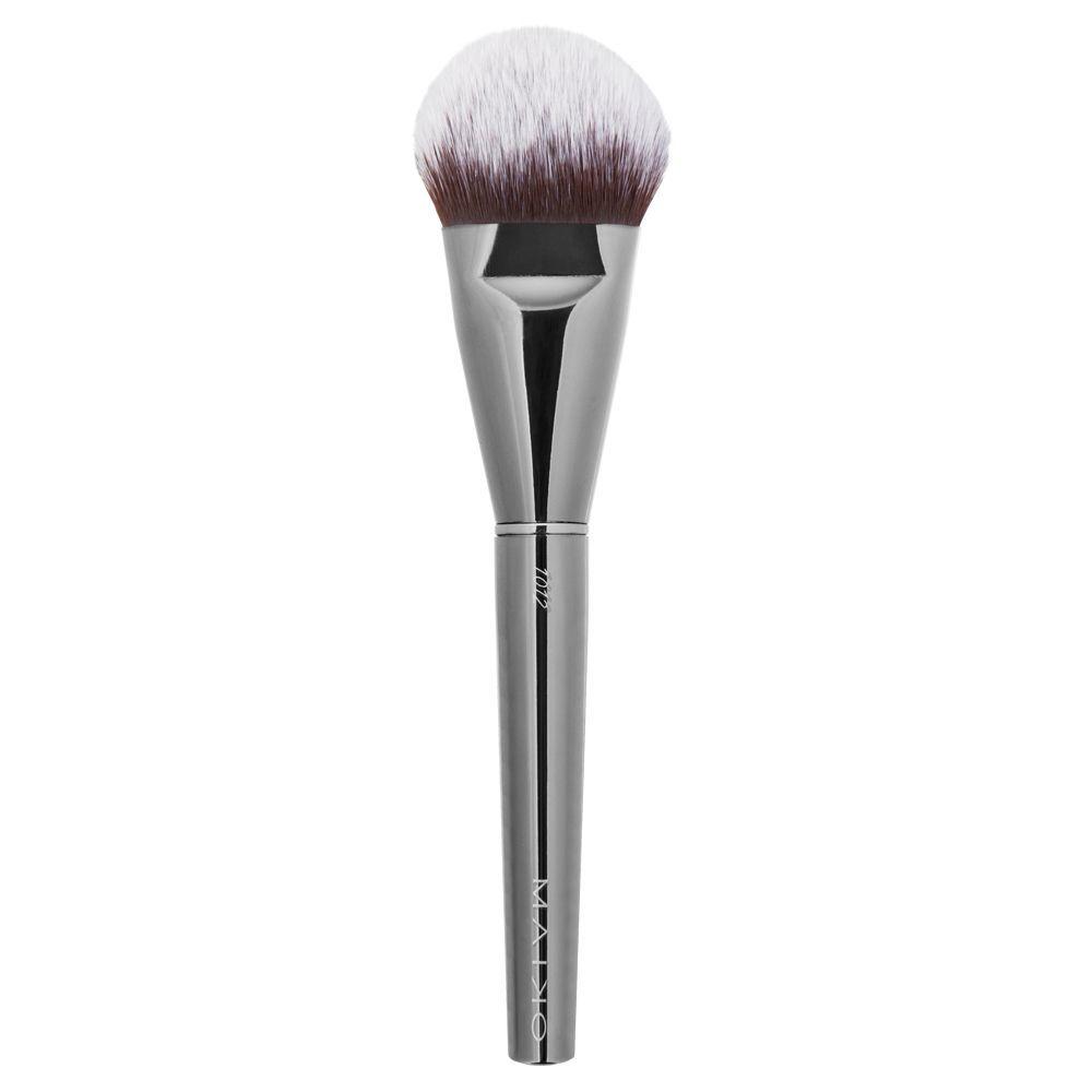 Brocha de base de maquillaje 1012 Luxury Grey de Maiko.