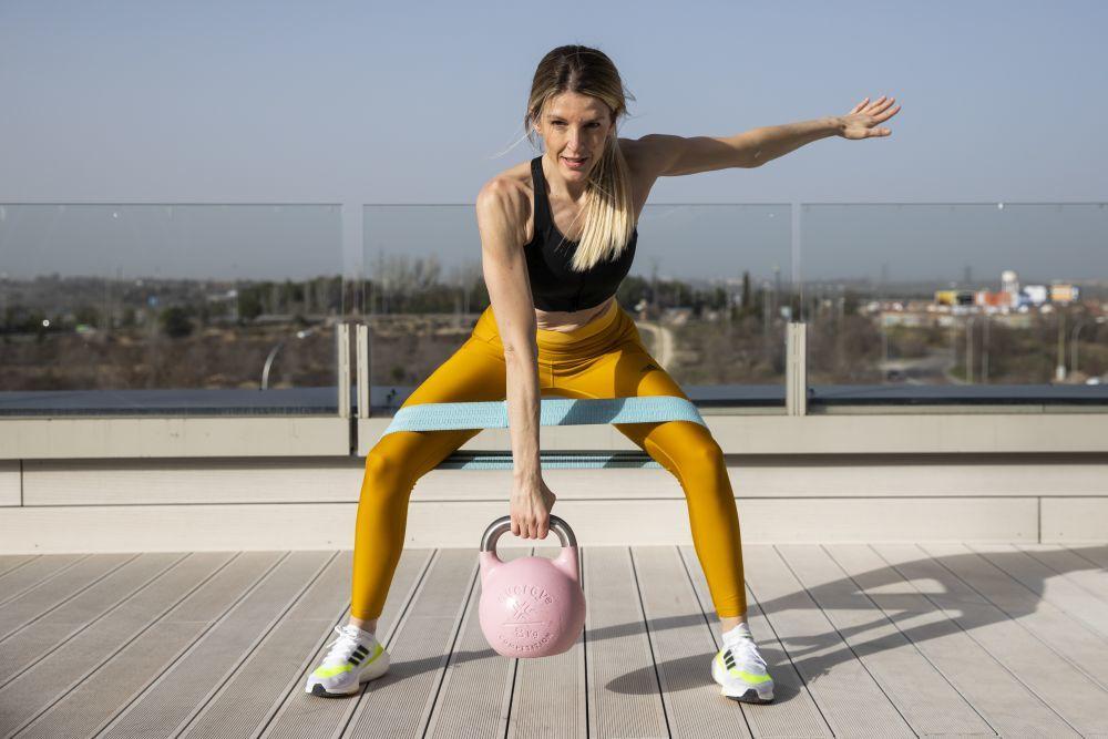 Los ejercicios de la rutina son globales para trabajar todo el cuerpo (efectividad y velocidad).