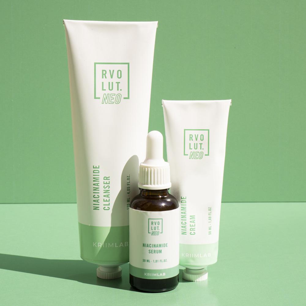Balance & Blemish es la línea Rvolut NEO para el cuidado de las pieles grasas.