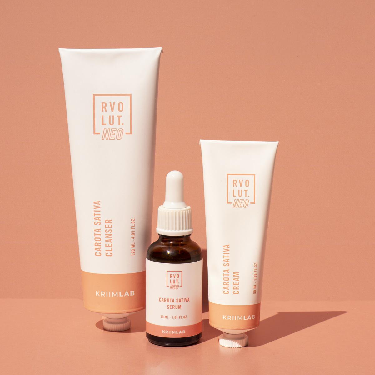 Balance & Blemish  es la ínea de Rvolut NEO formulada para cuidar las pieles sensibles.