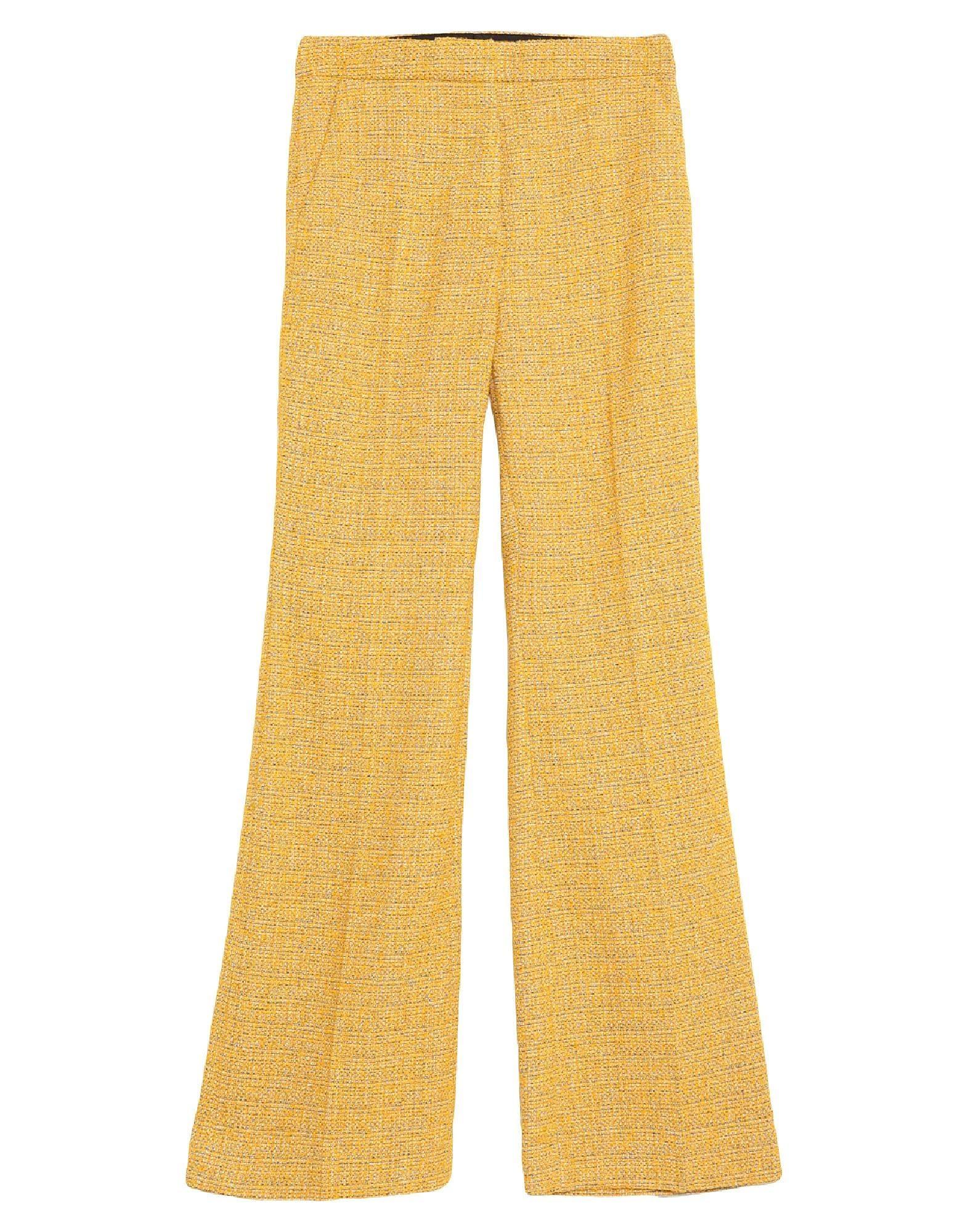 Pantalón de traje en tweed de corte recto de Victoria Beckham