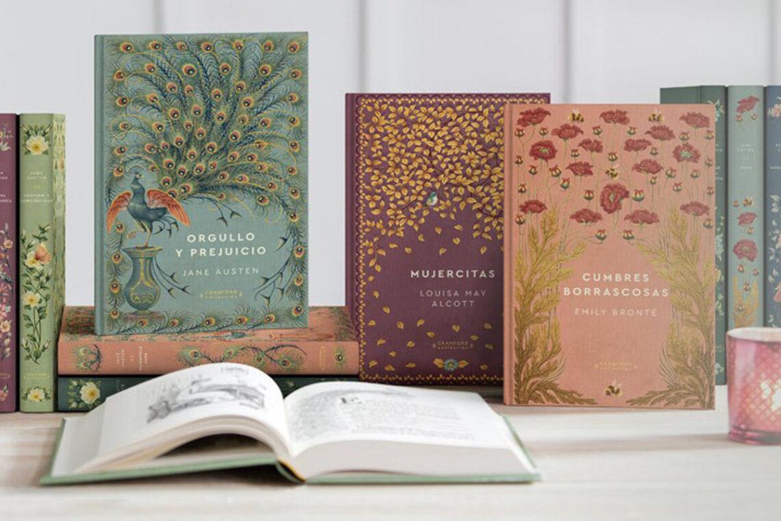 Una de mis últimas adquisiciones fue la colección de novelas eternas de RBA.