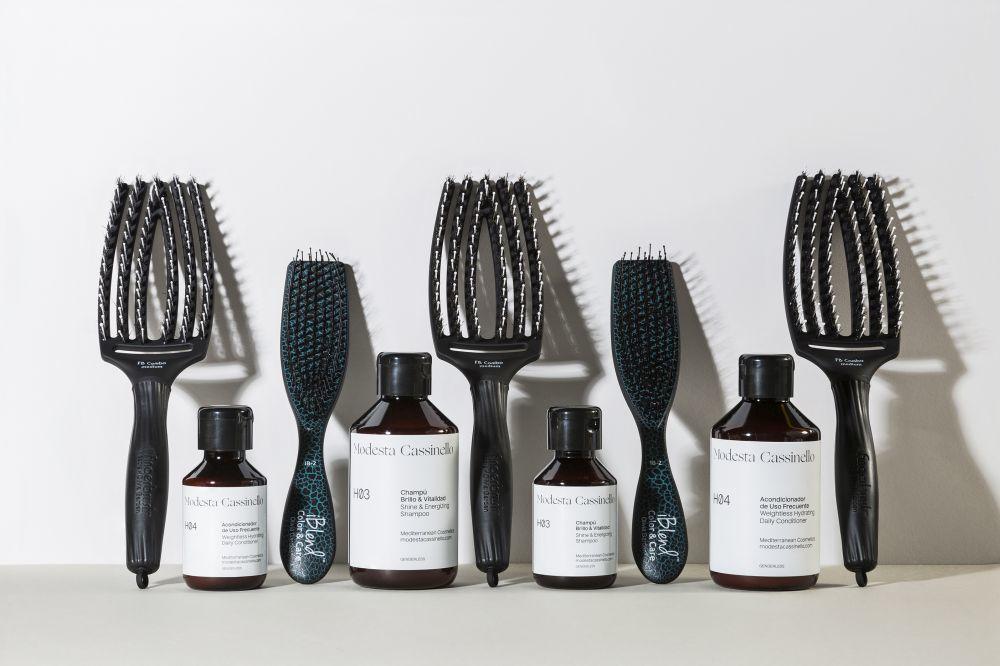 El lavado, el cepillado y el acondicionado se convierten en tres de los pilares del cuidado de pelo de la firma Modesta Cassinello.