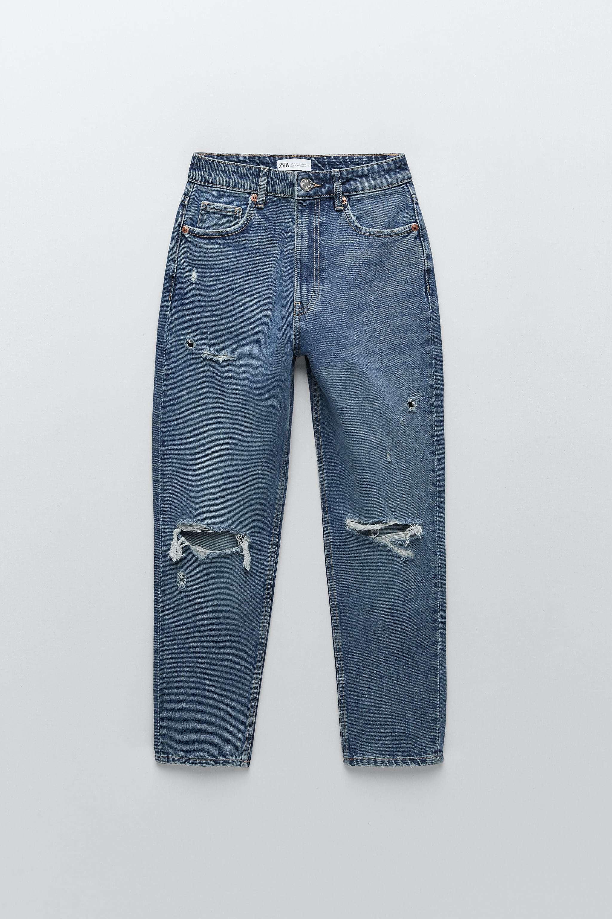 Jeans rotos, de Zara.