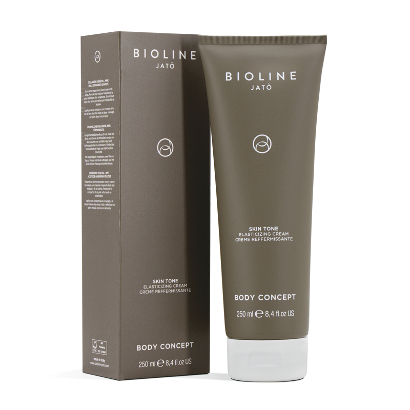 Skin Tone Elasticizing Cream de Bioline Jato ayuda a prevenir las estrías.