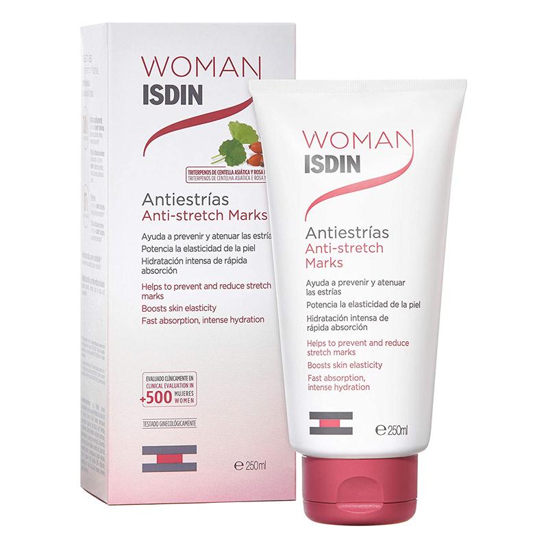 Crema Antiestrías Woman Isdin.
