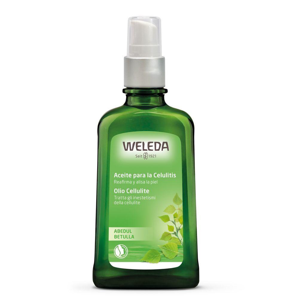 Aceite para la celulitis de abedul de Weleda.
