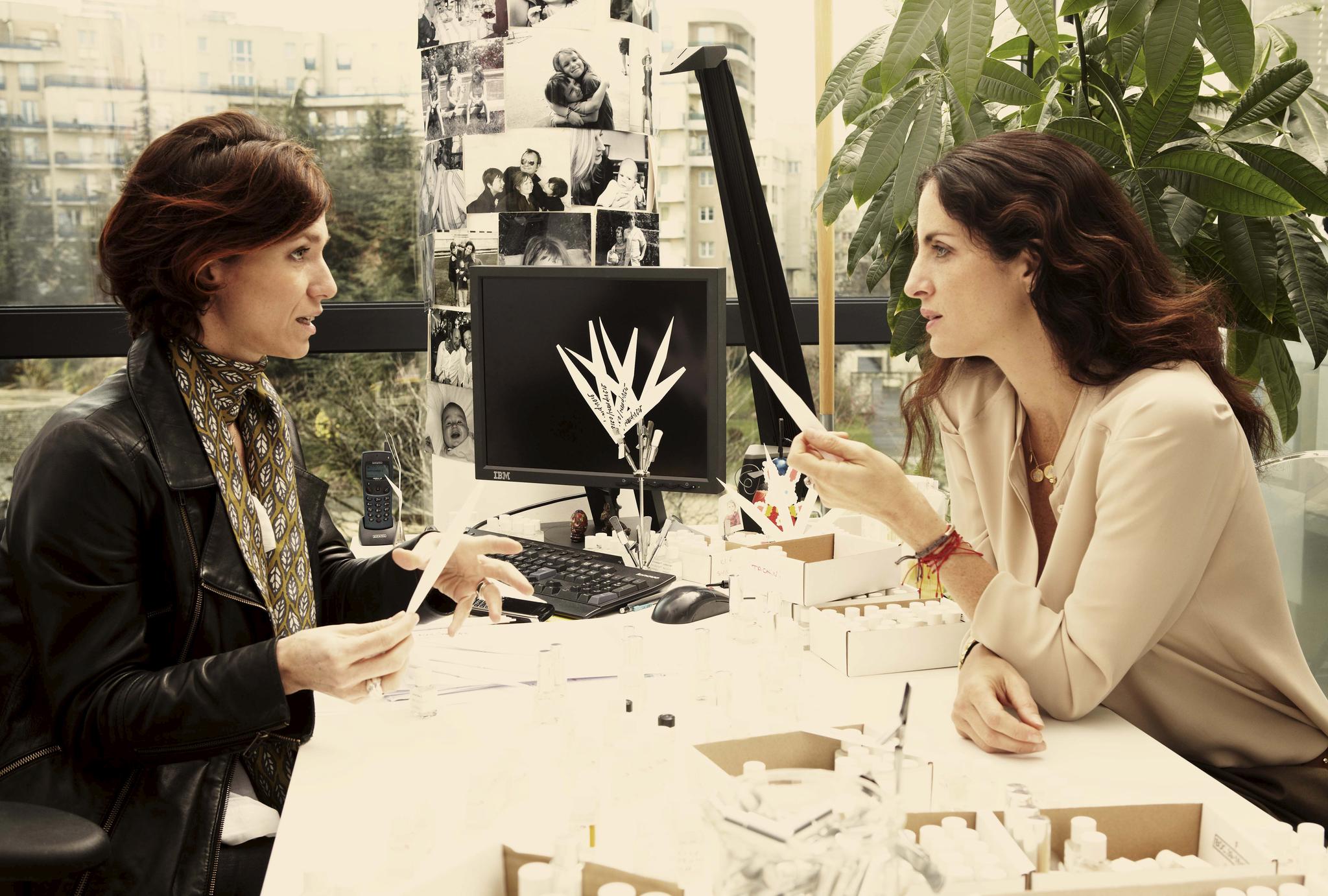Desde 1988 Puig distribuye los perfumes Carolina Herrera. En la imagen, la directora de fragancias Carolina Adriana Herrera.