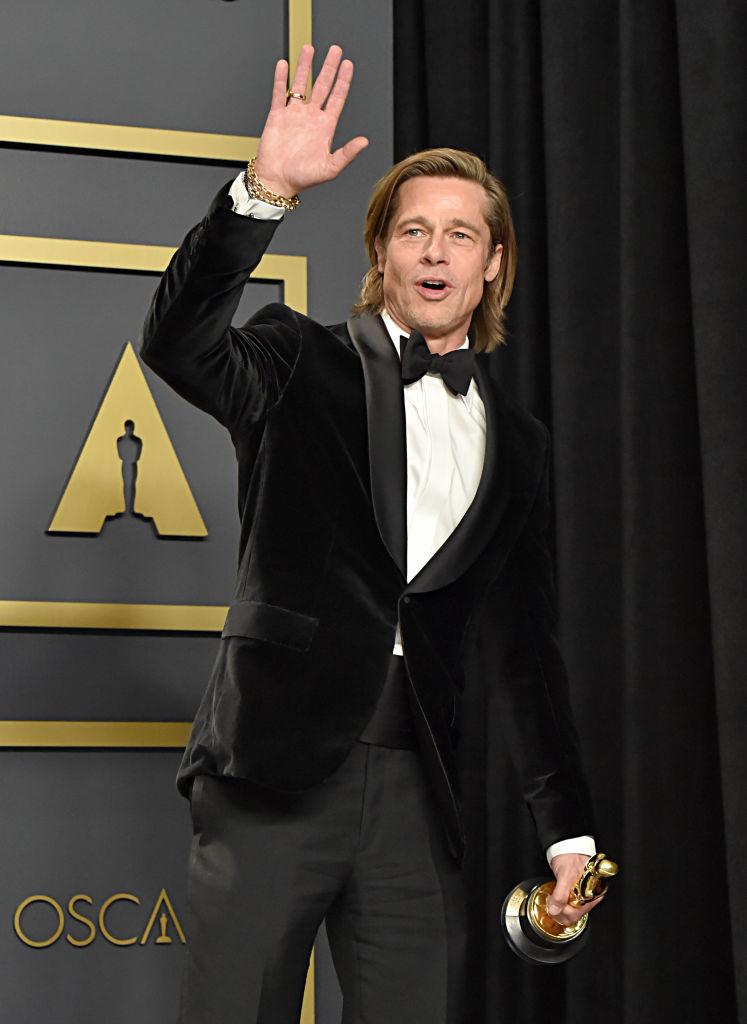 Brad Pitt será uno de los presentadores de la gala de los Premios Oscar 2021.
