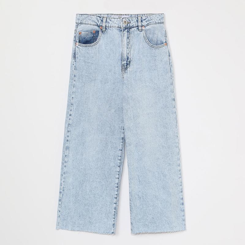 Jeans culotte.