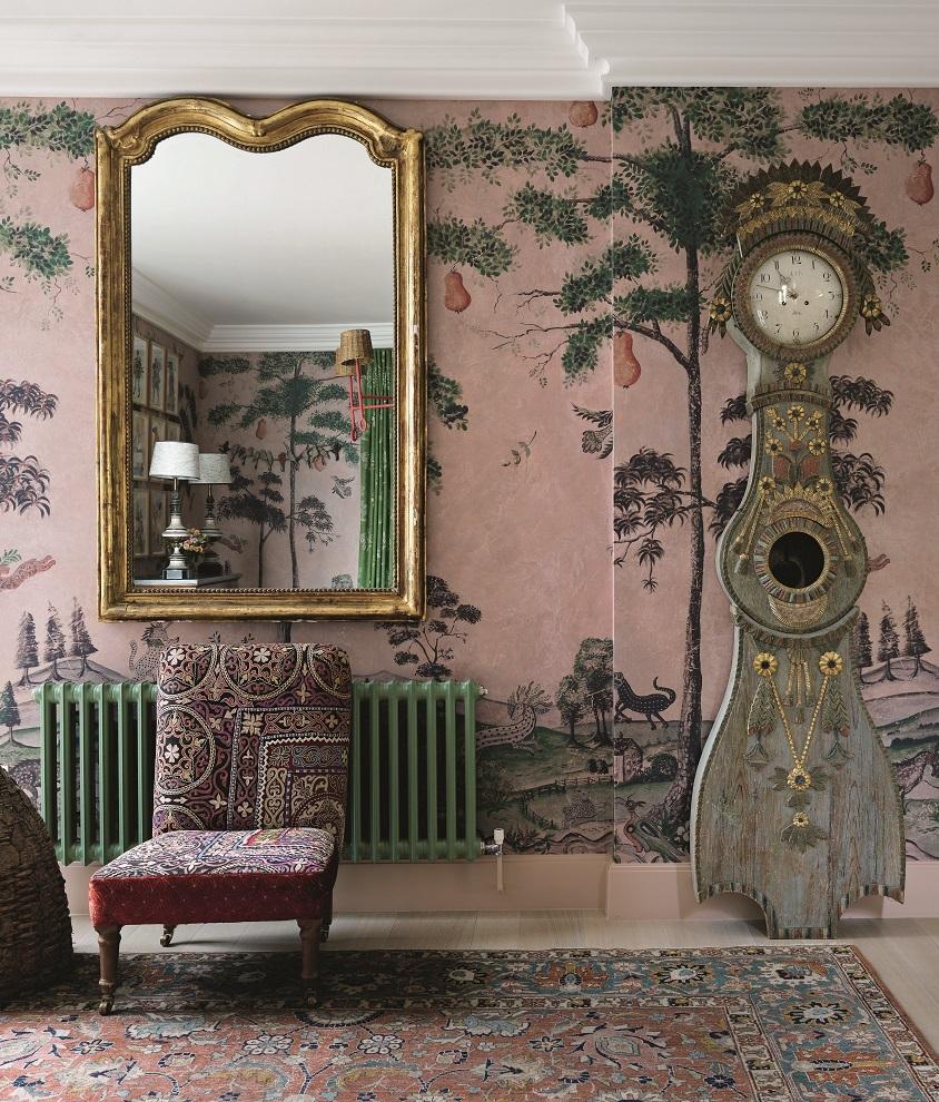 Casa privada en Londres decorada por Kit Kemp