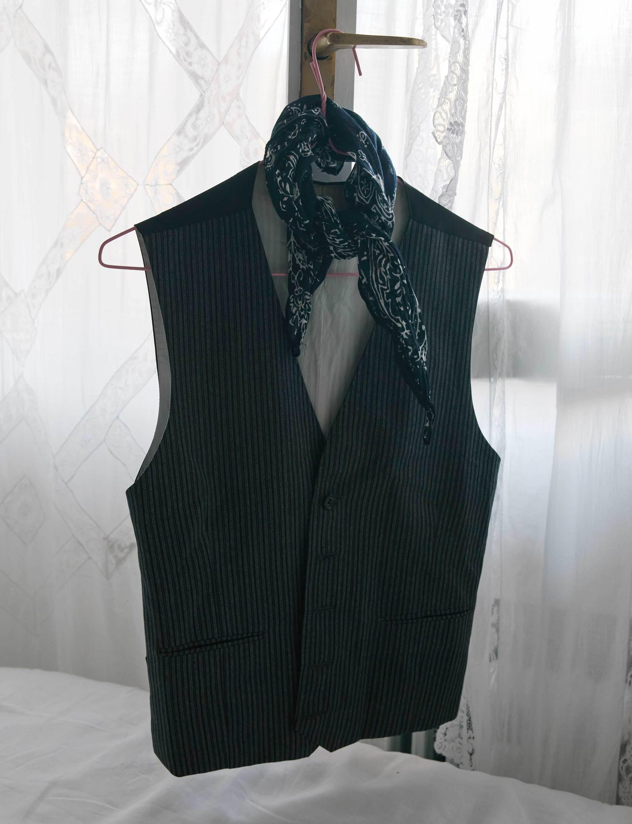 El chaleco tipo esmoquin de Zara