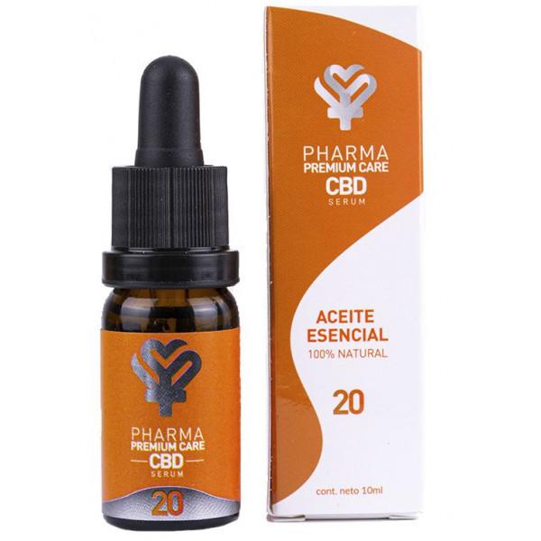 Aceite esencial natural 20% de Pharma CBD Premium