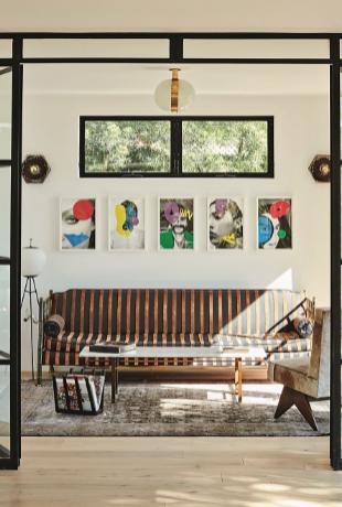 Salón de Romanek Design Studio