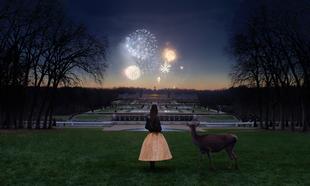 Así es como acabó el desfile de Celine, con fuegos artificiales a lo...