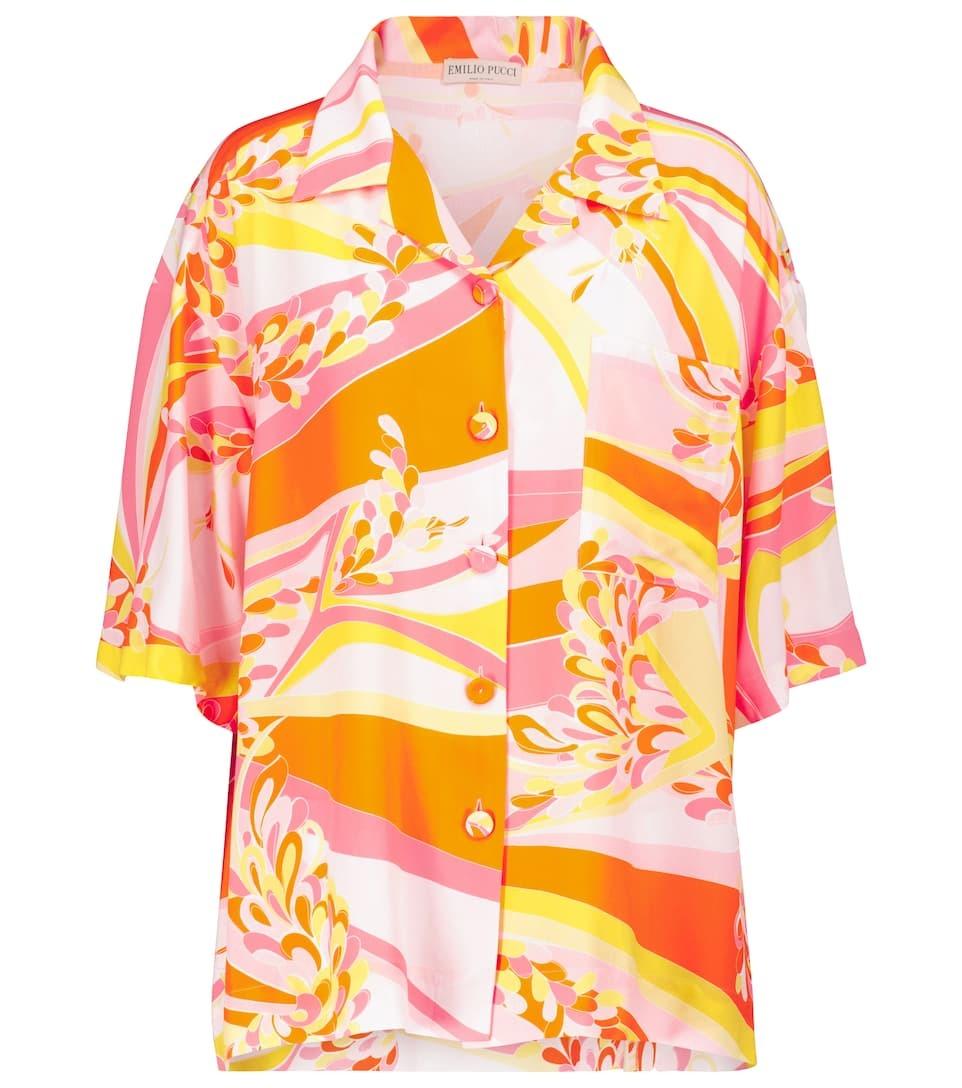 Camisa estampada de Emilio Pucci Beach.