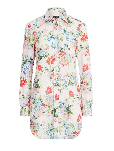 Camisola de flores, de Polo Ralph Lauren.