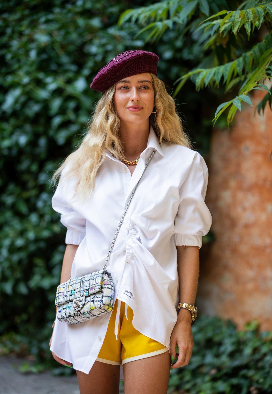 Emili Sindlev, embajadora de la belleza escandinava en el street style.