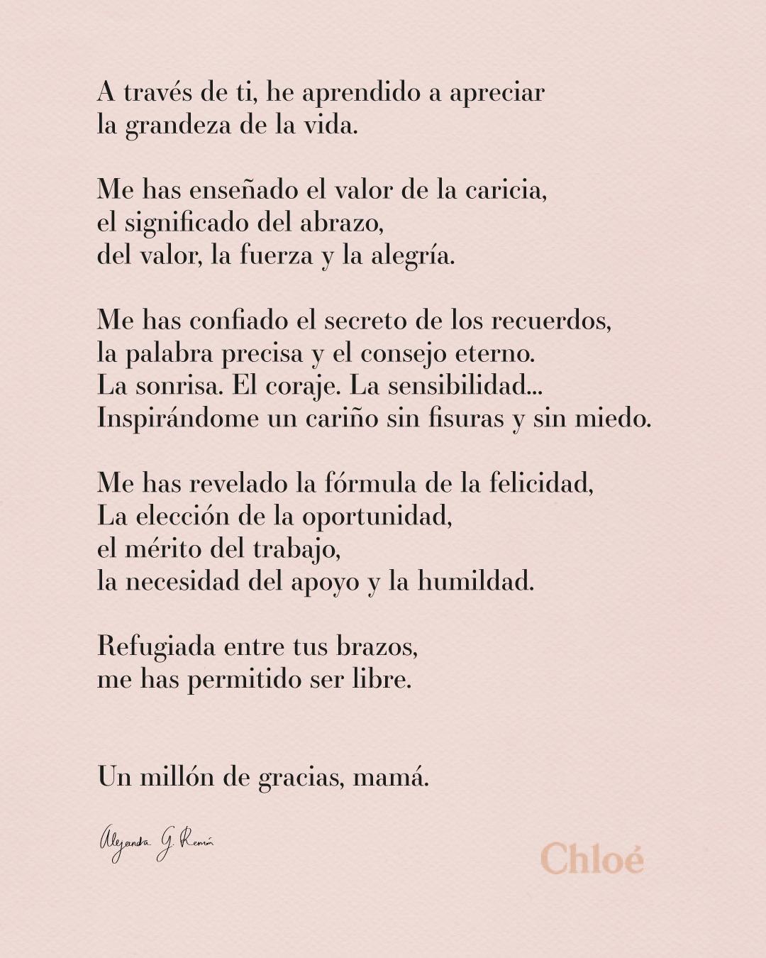 ¿Te animas a hacerle a tu madre un regalo personalizado, como escribirle un poema?
