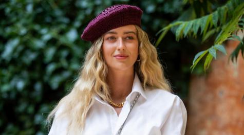 Emili Sindlev, embajadora de la belleza escandinava en el street...