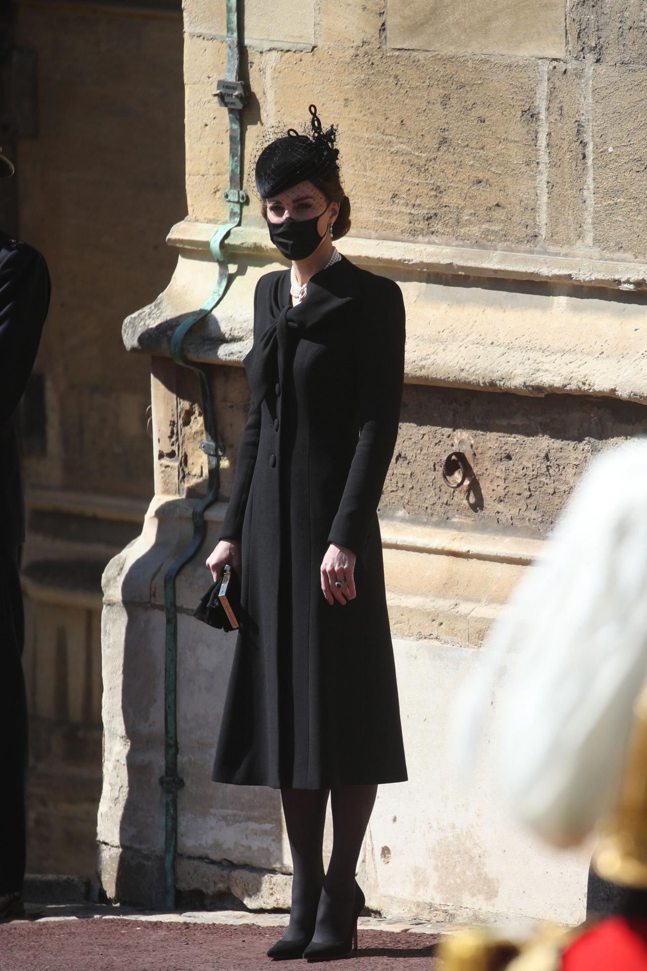 Kate Middleton de luto.