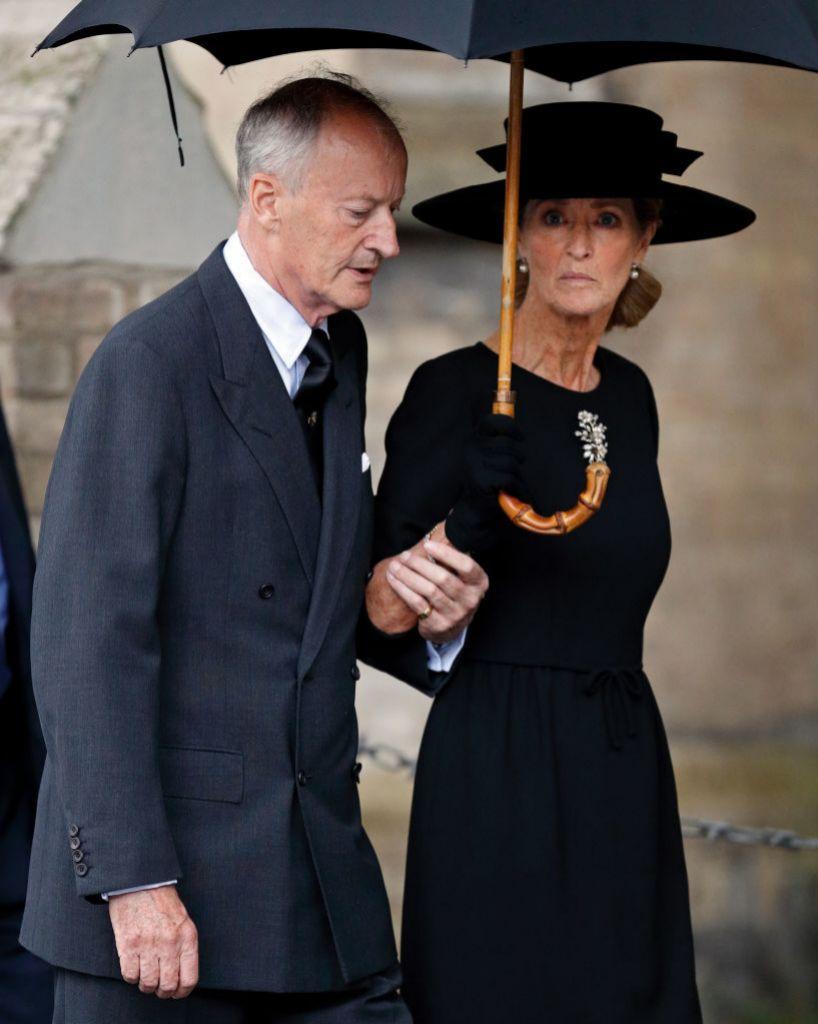 Penny y su marido en 2017.