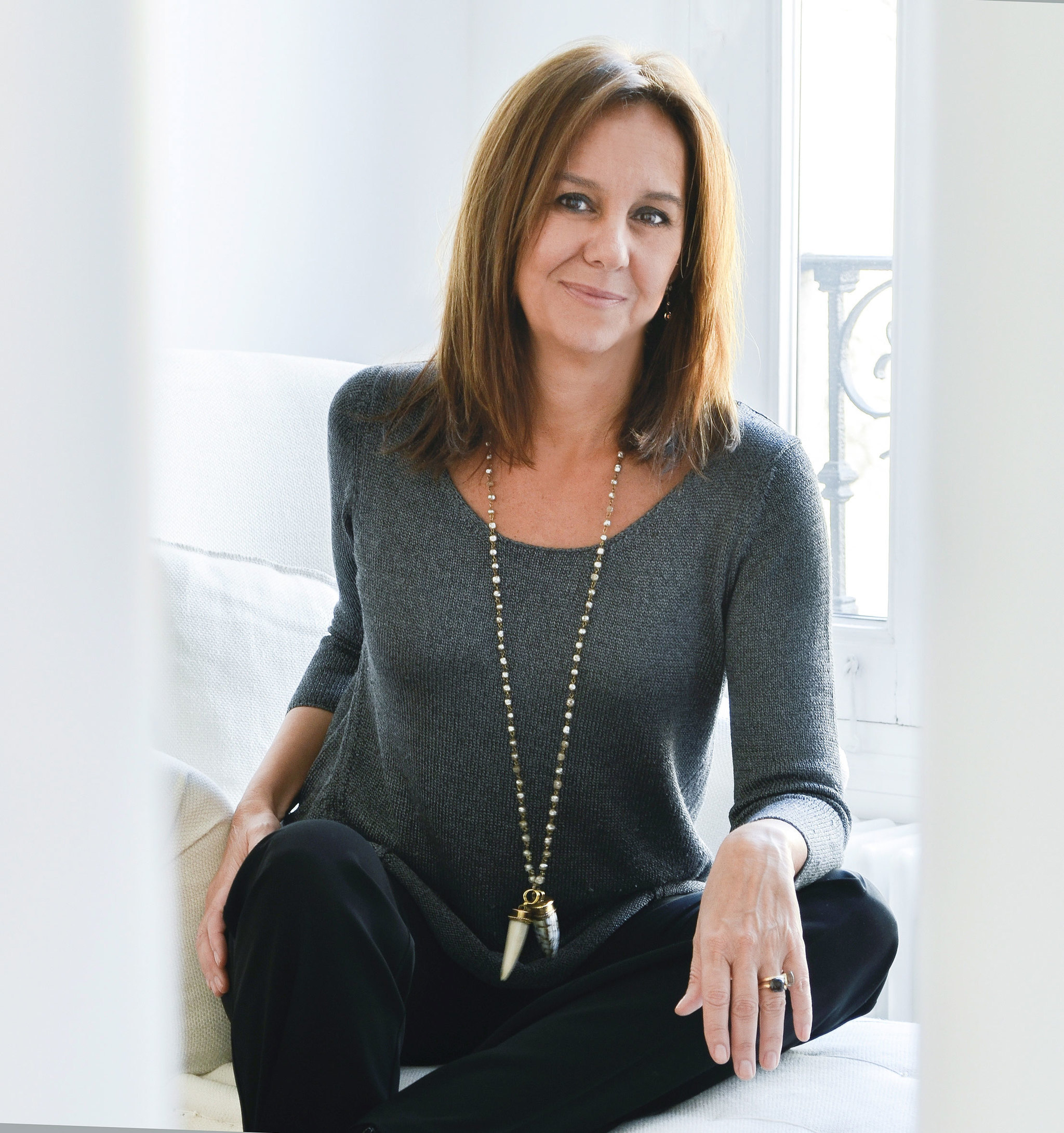 La escritora María Dueñas.
