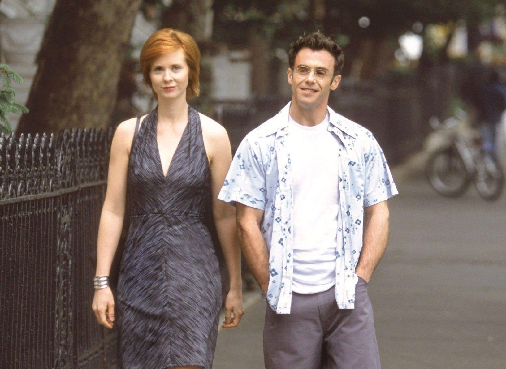 """Cynthia Nixon (Miranda en la serie) y David Eigenberg (su marido, Steve Brady) podrían volver a compartir pantalla en el retorno de """"Sexo en Nueva York""""."""