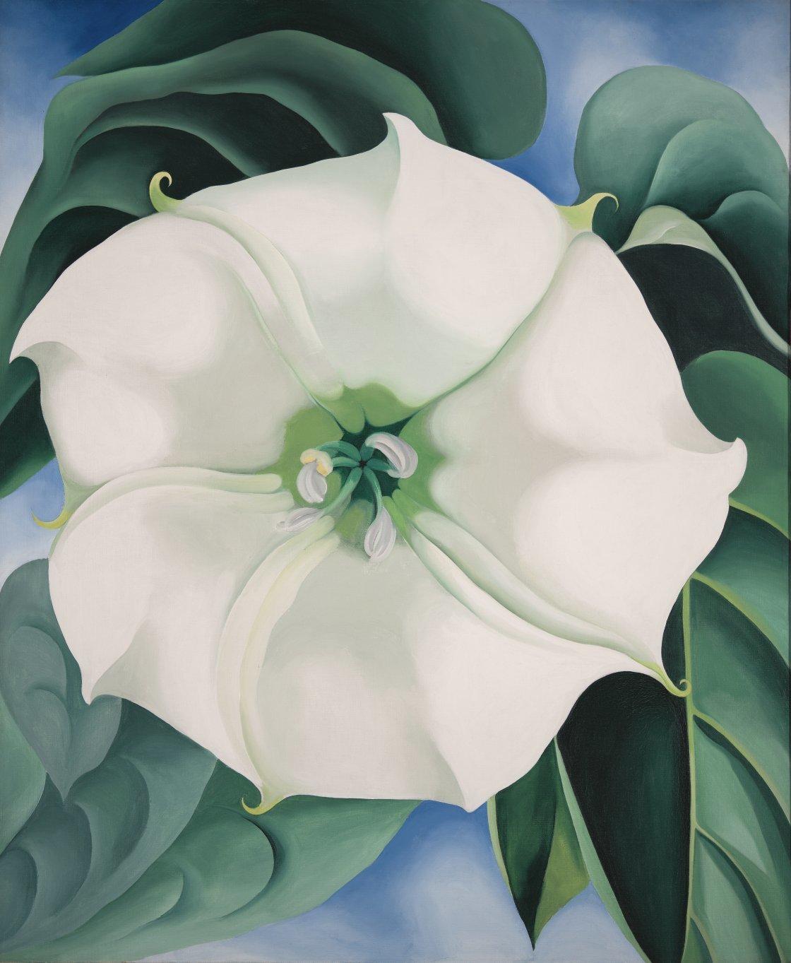 La expo del año: Georgia O'Keeffe, la gran pintora norteamericana, en una retrospectiva del Museo Thyssen