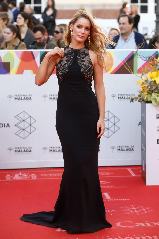 Alejandra Onieva en el Festival de Málaga de 2019.