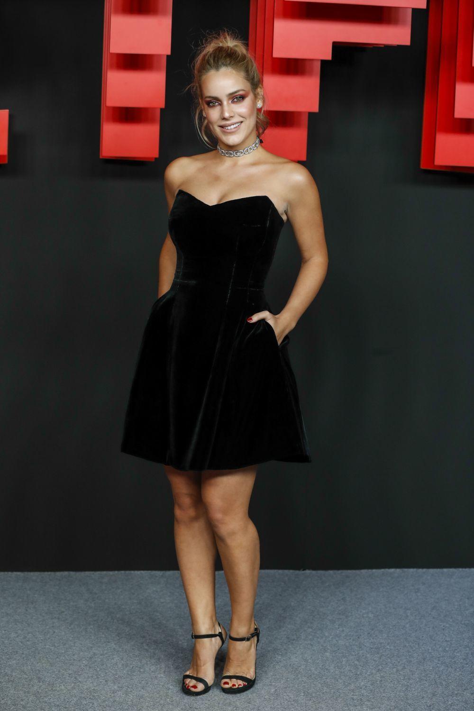 La actriz Alejandra Onieva en una fiesta de Netflix.
