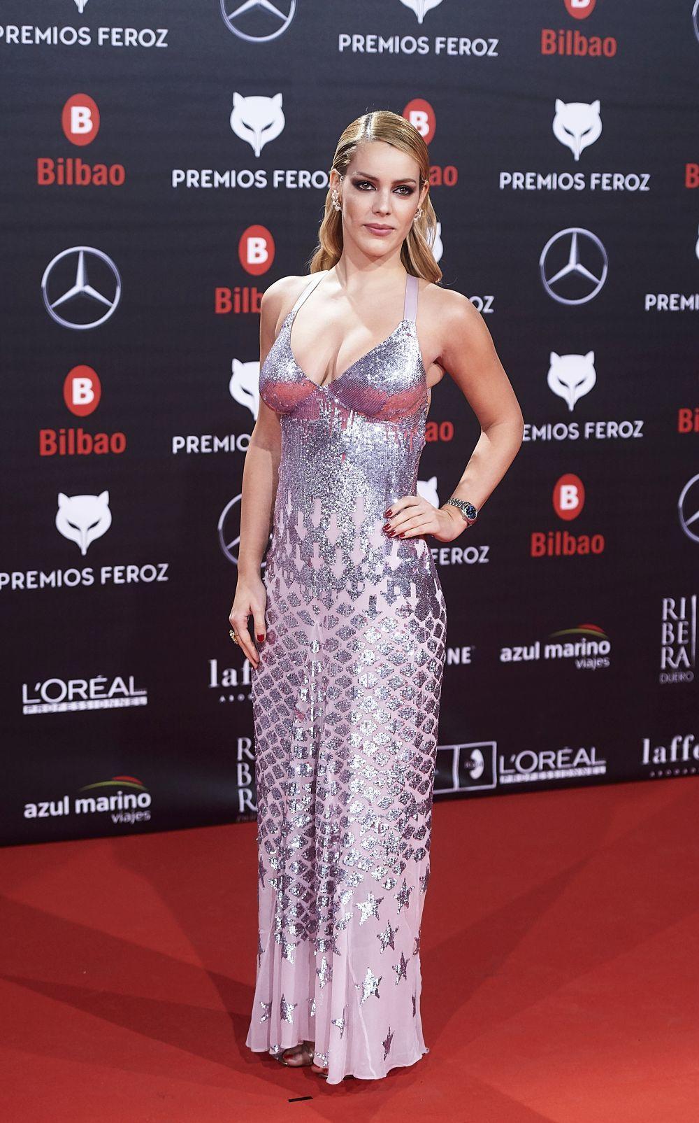 El look de Alejandra Onieva en los Premios Feroz de 2019.