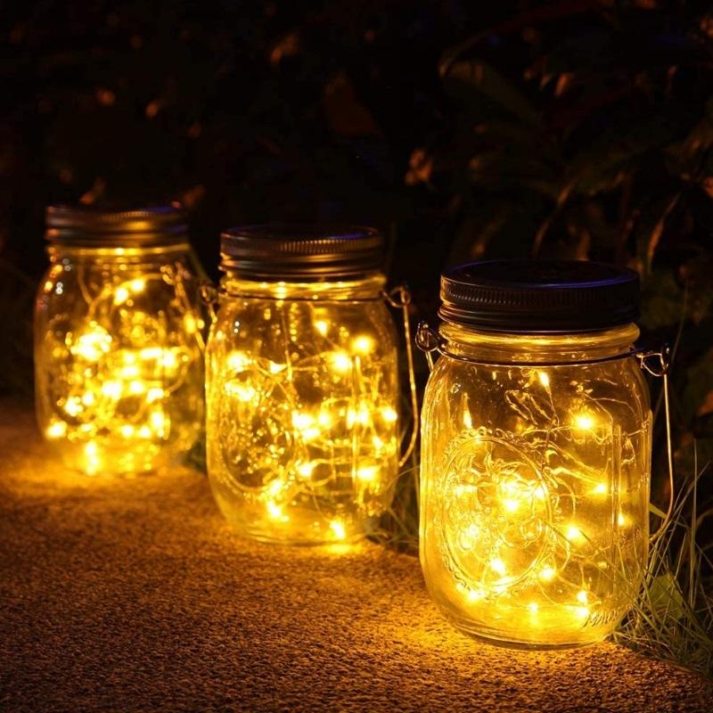 Lámparas solares de exterior