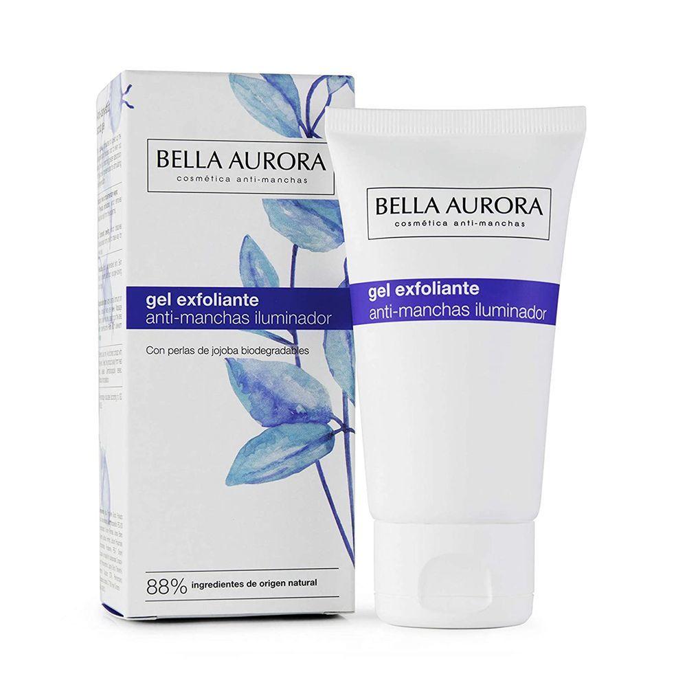 Gel exfoliante antimanchas de Bella Aurora.