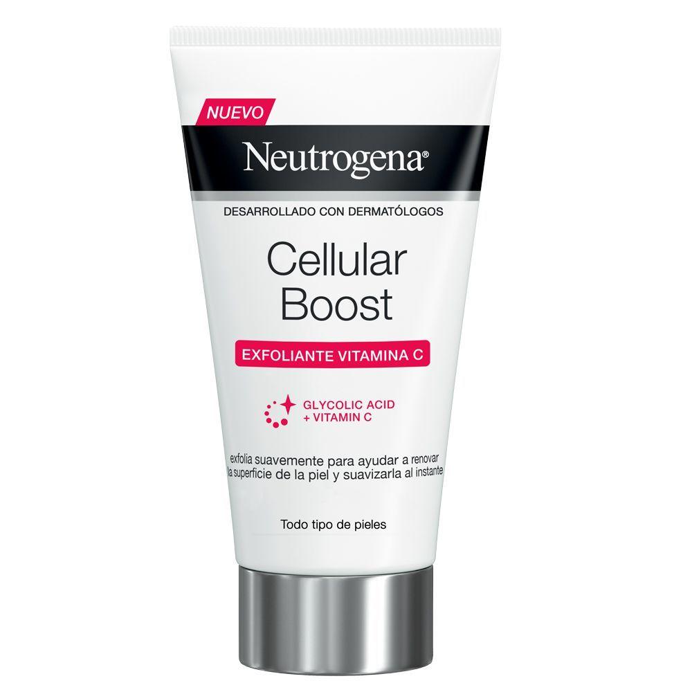 Exfoliante facial Cellular Boost de Neutrogena.