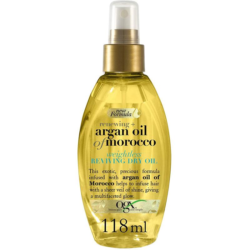 Aceite de Argán de Marruecos para el pelo de OGX.